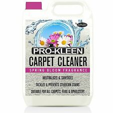 Genuine Pro-Kleen Carpet Cleaning Solution Shampoo Odour Upholstery Cleaner VAX