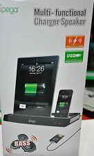 Multi-Function Docking Station Charger Speaker - iPhone 3G/4/4S/iPad/iPad2/iPad3