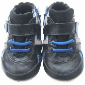 Jinwood mini first steps Bailey black /blue NEU