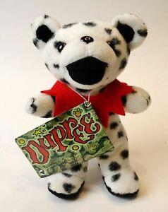 1990's Grateful Dead DUPREE Bean Bear Collectibles Plush  Birthday 2/4/78