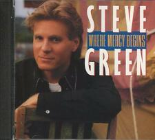 Music CD Steve Green Where Mercy Begins