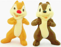 CHIP & DALE Figure Set MICKEY MOUSE Chipmunks DISNEY JUNIOR PVC TOY Cake Topper!