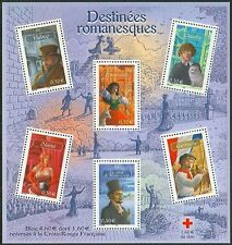 2003 FRANCE BLOC N°60** BF Littérature, Destinées Romanesques Luxe, sheet MNH