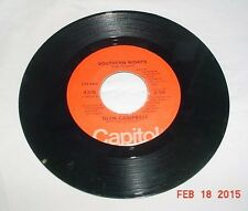 GLEN CAMPBELL SOUTHERN NIGHTS WILLIAM TELL OVERTURE CAPITOL 45 1977 VGOOD COND