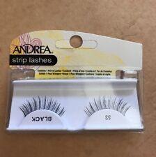 Andrea Strip Eye Lashes: #53, Black NIB (FF)