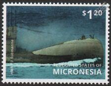 WWI Royal Navy HMS R3 R-Class Attack Submarine Stamp (2015 Micronesia)