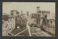 1920s Carnarvon Castle England Rppc Real Picture Postcard