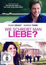 WIE SCHREIBT MAN LIEBE?  DVD NEU  HUGH GRANT/MARISA TOMEI/CHRIS ELLIOTT/+