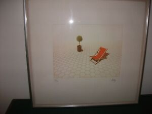 """limited edition print signed framed by Philip Solly """"Endless Summer"""""""