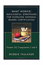 Successful Strategies for Pursuing National Board Certification... Free Shipping