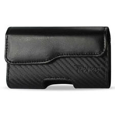 for Apple iPhone 3G 3GS 4 4S Black Leather Pouch Case Belt Clip/Loop Holster