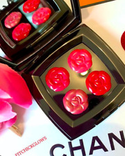 100% Authentic Chanel Camelias D'Eau Limited Lip Palette Lipstick New In Box