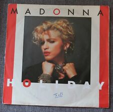 Madonna, holiday / i know it, SP - 45 tours