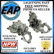 For 88-93 Toyota 4Runner Pickup 3.0L V6 Japanese NPW Water Pump w/o Outlet Pipe