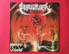 Sepultura-Morbid Visions KOREA FIRST PRESS LP INSERT METALLICA MEGADETH