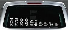 Stick Family Car Window Stickers / Decals