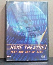 Home Theatre Test and Set-Up Disc    (DVD)  Includes Filmstrip    LIKE NEW