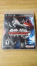 Tekken Tag Tournament 2 PS3 Playstation 3 COMPLETE NICE!