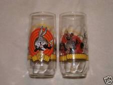 """Happy Birthday Bugs"" WB 50th Anniversary glass set/2"