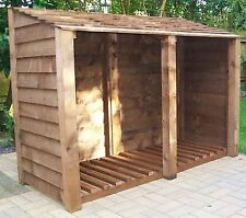 LOG STORE - Free assembly. Free local delivery.