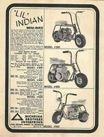 Vintage Color 1963 Fox Campus Bike Mini-Bike /& Kart Ad