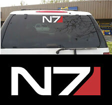 Mass Effect N7 Decal Sticker for Window, Xbox 360 & more!