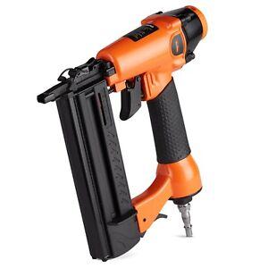 VonHaus Air Nail Gun 50mm 18 Gauge Brad Nailer / Stapler 2 in 1