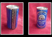 COLLECTABLE AUSTRALIAN STEEL BEER CAN, CASCADE LIGHT LAGER 375ml