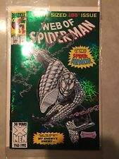 Spiderman. The Web of Spiderman Comic Book. 100. Marvel Comics. 100th Issue.