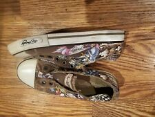 Ed Hardy Shoes size 4 in excellent used condition