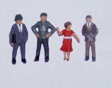 OO/HO gauge Painted Standing People - P&D Marsh PDZ04 free post F1