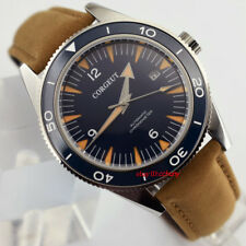 Corgeut 41mm Blue Dial Sapphire Crystal Miyota 821A Automatic Wrist Watch 2553