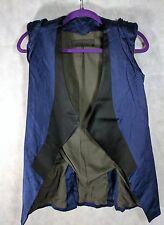 Haider Ackermann Silk Metallic Deconstructed Vest Size 36