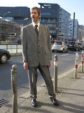 KaDeWe Herren Sakko Jacket Jacke grau gemustert 90er TRUE VINTAGE 90s men coat