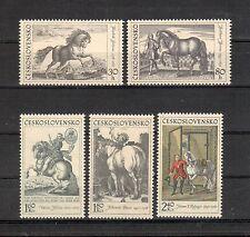 Tschechoslowakei Michelnummer 1870 - 1874 postfrisch (europa:4207)