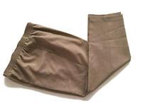 "Alia Petites Elastic Waist Pants Pockets Beige Women's Size 10P 24.75"" Inseam"