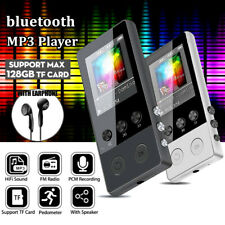 bluetooth MP3 Music Player Hi-Fi Lossless Sound Portable FM Radio Voice TF