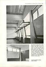 1960 Pivoted Shutters In  School In Lagos Nigeria Architects Co-partnership