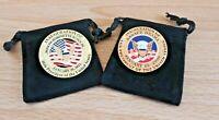 Joseph Biden and Barack Obama Inauguration Collector Set  Both 2009 & 2021 pins