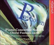 Piano Concertos 1-5 / Choral Fantasia Op 80, Kofman, Kiev Chamber Orch, Vrach, G
