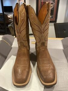 Ostrich Lucchese Mens Boots New 9.5 EE