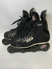 Bauer Off Ice Hockey H3 Inline Skates Super Light Chassis Size 9 D