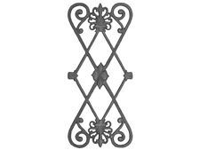 CAST IRON RAILING PANEL - DOUBLE FACED  #685