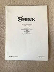SHREK the movie script.