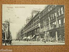 R&L Postcard: Deansgate Manchester, Cafe/British Rubber Co Shop 1903, Real Photo