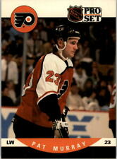 1990-91 Pro Set Flyers Hockey Card #630 Pat Murray RC