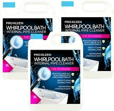 Pro-Kleen Hygienic Whirlpool and Jacuzzi Spa Bath Internal Pipe Cleaner  3 x 5L