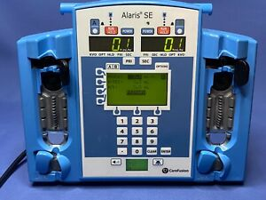 Carefusion Alaris SE Dual two-channel infusion pump 7231