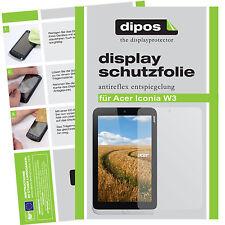 2x Acer Iconia W3 Pellicola Prottetiva Antiriflesso Proteggi Schermo