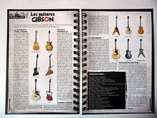 COUPURE DE PRESSE-CLIPPING :  GUITARES GIBSON [2pages] 06-07/2008